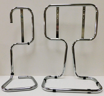 Group of Chrome Stands